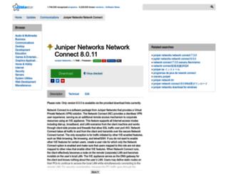 juniper-networks-network-connect.updatestar.com screenshot