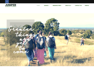 junipercommunitymissions.org screenshot