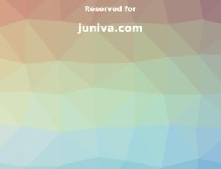juniva.com screenshot