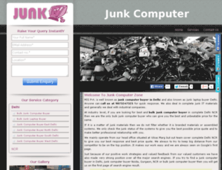 junkcomputer.in screenshot