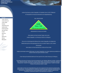 junkers-gasheizung.de screenshot