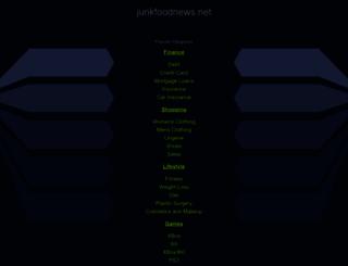 junkfoodnews.net screenshot