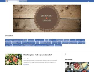 junkfoodunmask.blogspot.pt screenshot