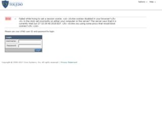 junkmail.utoledo.edu screenshot