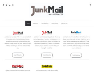 junkmaildigitalmedia.co.za screenshot