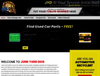 junkyarddog.com screenshot
