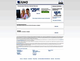 juno.com screenshot