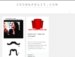 juomapelit.com screenshot