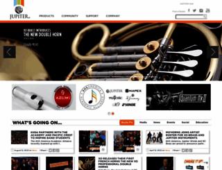 jupitermusic.com screenshot