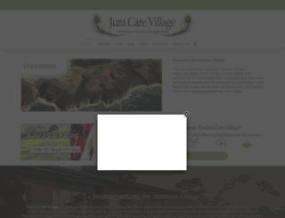 juracare.co.za screenshot