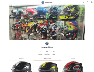 juraganhelm.com screenshot
