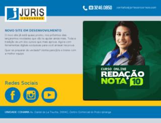 jurisconcursosma.com.br screenshot