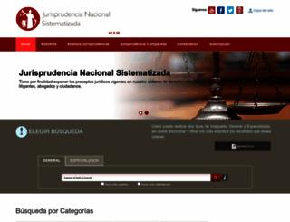jurisprudencia.pj.gob.pe screenshot