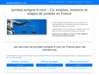 juristes.enligne-fr.com screenshot