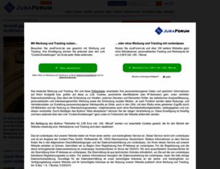 juristische-linksammlung.de screenshot