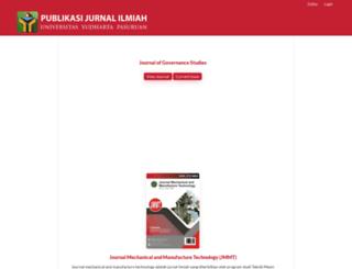 jurnal.yudharta.ac.id screenshot