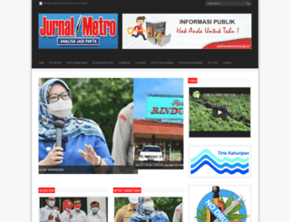 jurnalmetro.com screenshot
