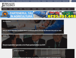 jurnaluldeialomita.ro screenshot