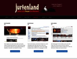 jurtenland.de screenshot