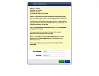 jury.browardclerk.org screenshot