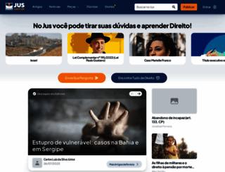 jus.com.br screenshot