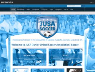 jusa.org screenshot