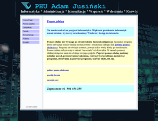 jusinski.pl screenshot