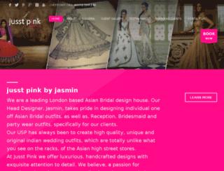 jusstpink.co.uk screenshot
