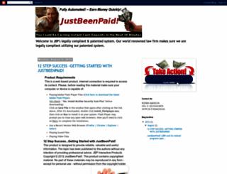 just-been-paid.blogspot.com screenshot