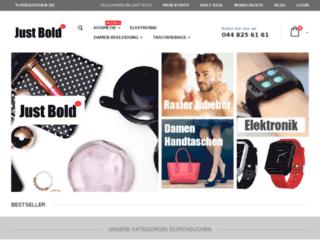 just-bold.com screenshot
