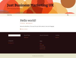 just-businessmarketing.co.uk screenshot