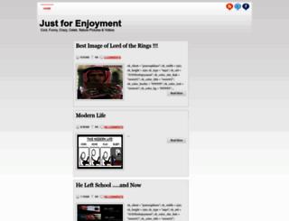 just-for-enjoyment.blogspot.com screenshot
