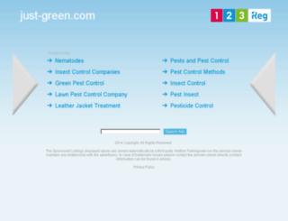 just-green.com screenshot