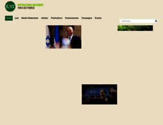 just-international.org screenshot