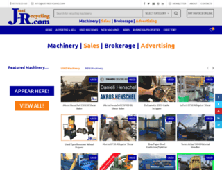 just-recycling.com screenshot