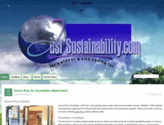 just-sustainability.com screenshot