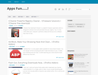 just4apps.blogspot.com screenshot