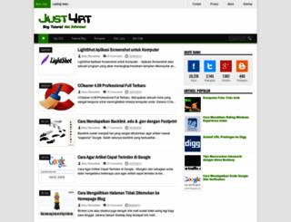 just4rt.blogspot.com screenshot