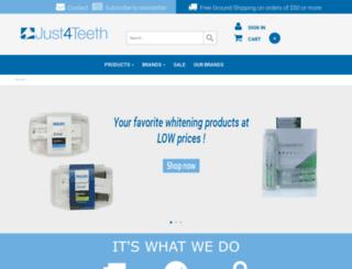 just4teeth.com screenshot