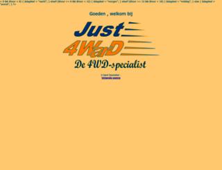 just4ward.nl screenshot