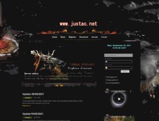 justac.net screenshot