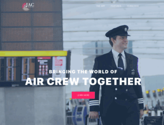 justaircrew.com screenshot