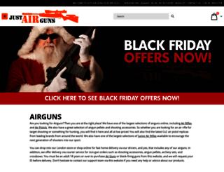 justairguns.co.uk screenshot