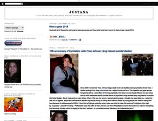 justana-justana.blogspot.com.br screenshot