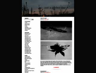 justaperfectday.wordpress.com screenshot