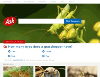 justask.com screenshot