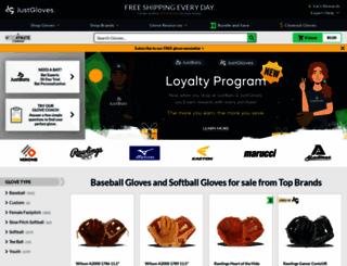 justballgloves.com screenshot