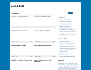 justbcause.com screenshot
