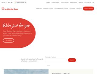 justbettercare.com screenshot