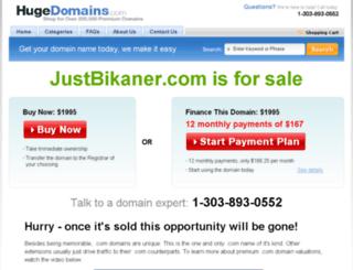 justbikaner.com screenshot